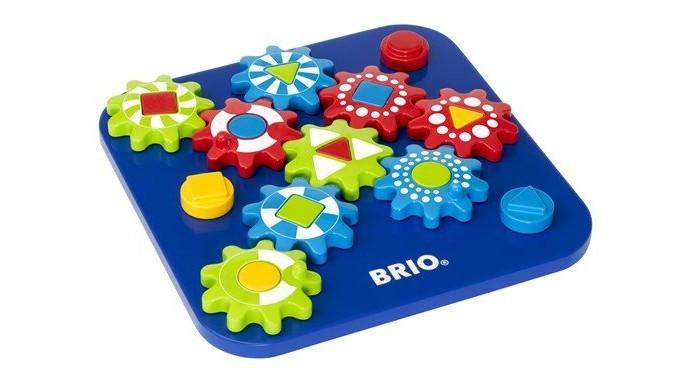Деревянная игрушка Brio Пазл в виде шестерёнок