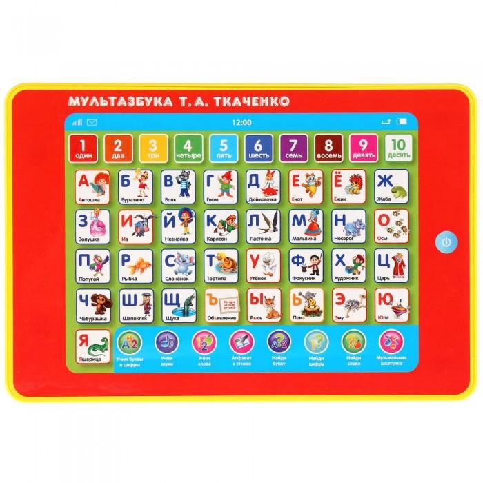 Купить Развивающие игрушки, Развивающая игрушка Умка Сенсорный планшет МультАзбука стихотворения Т.А.Ткаченко