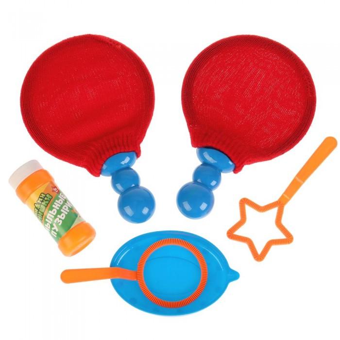 Мыльные пузыри Играем вместе Набор для пускания мыльных пузырей Мимимишки пинг-понг пузыри мыльные играем вместе ми ми мишки 50мл 219159