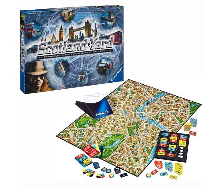 Купить Настольные игры, Ravensburger Настольная игра Скотланд Ярд
