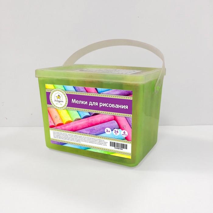 Купить Мелки ЯиГрушка цветные толстые 6 цветов 24 шт. в интернет магазине. Цены, фото, описания, характеристики, отзывы, обзоры