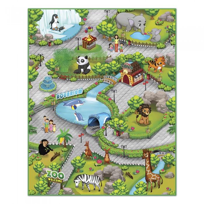 Игровые коврики Knopa Интерактивный Зоопарк 3D 90х120 см knopa сортер автомобиль knopa силач классика
