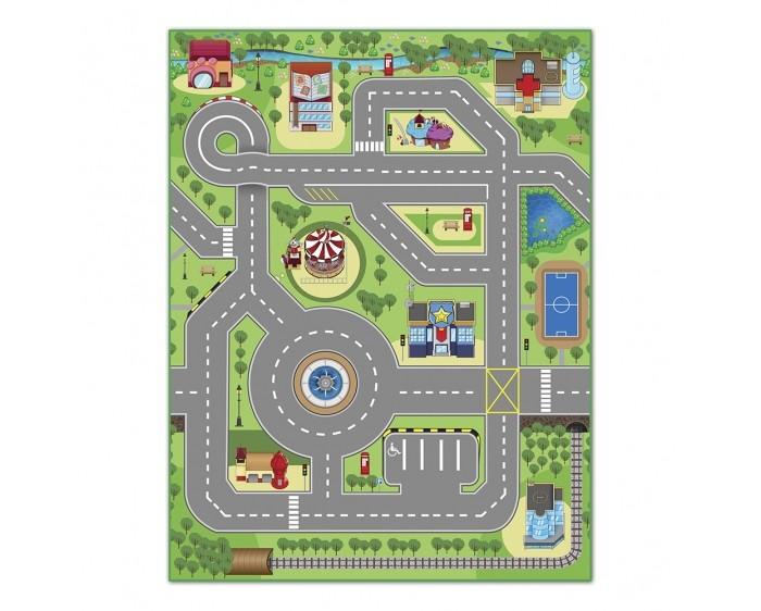 Игровые коврики Knopa Интерактивный Твой город 3D 90х120 см