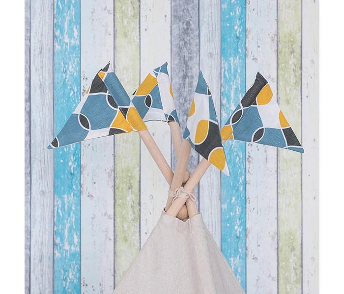 Палатки-домики Kett-Up Флажки Иллюзия декоративные