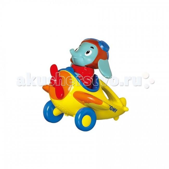 Вертолеты и самолеты Tomy Весёлые Виражи Летчика Люка игрушки интерактивные tomy интерактивная игрушка веселые виражи летчика люка