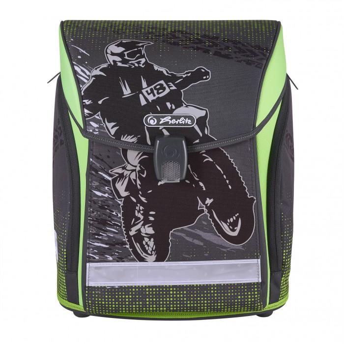 Купить Школьные рюкзаки, Herlitz Ранец Midi New Motorcross