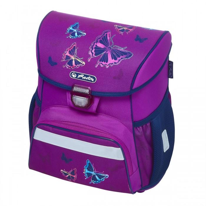 Купить Школьные рюкзаки, Herlitz Ранец Loop Glitter Butterfly