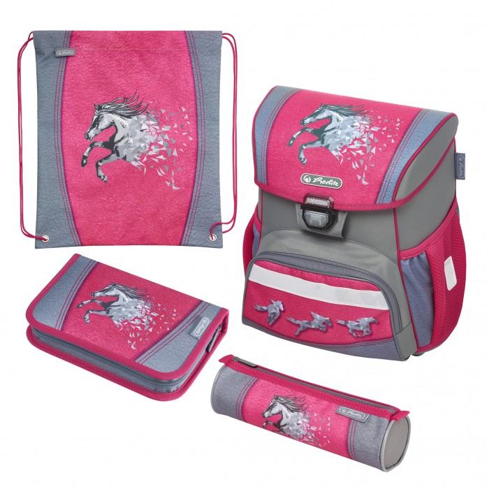 Купить Школьные рюкзаки, Herlitz Ранец Loop Plus Power Horse с наполнением
