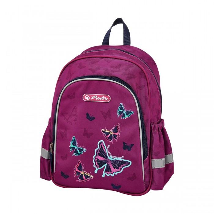 Фото - Школьные рюкзаки Herlitz Рюкзак дошкольный Butterfly herlitz рюкзак kids race car