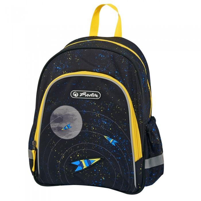 Фото - Школьные рюкзаки Herlitz Рюкзак дошкольный Space herlitz рюкзак kids race car