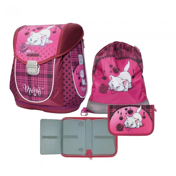 5e50ae42d3a0 Купить Школьные рюкзаки, Magtaller Ранец школьный Ezzy III Cat с наполнением