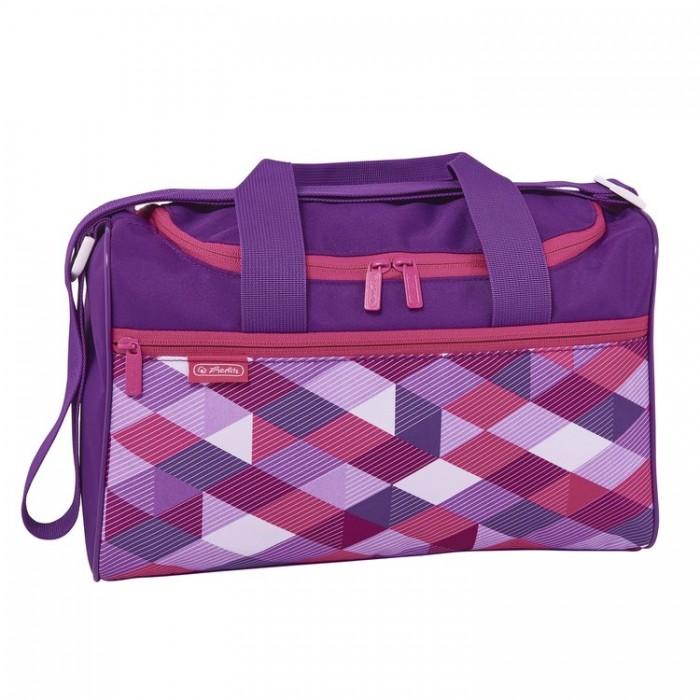 Herlitz Сумка спортивная XL Pink Cubes