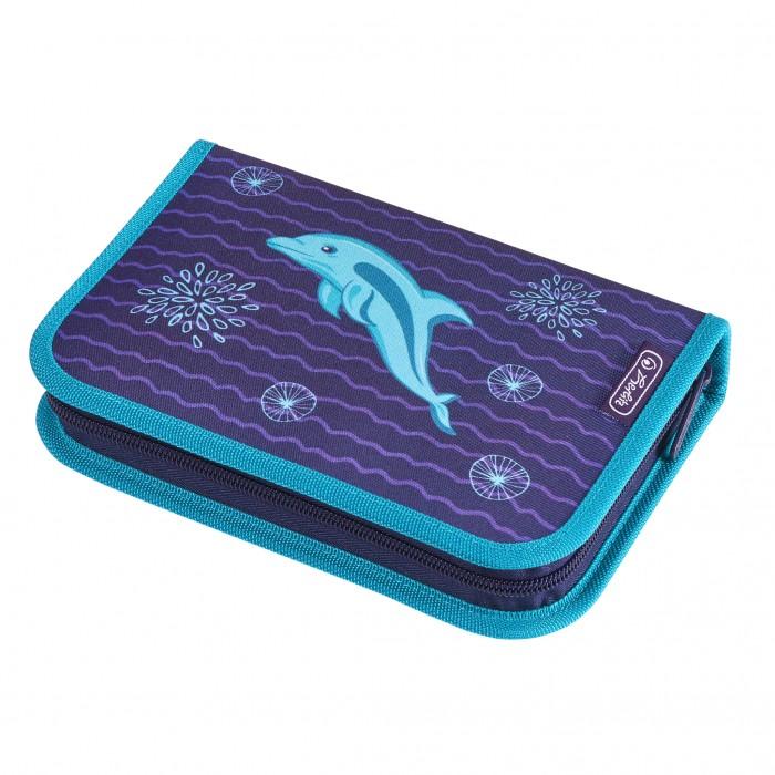 Купить Пеналы, Herlitz Пенал Dolphin 31 предмет