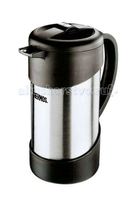 Термос Thermos Термос-кофеварка NCI 1000 Caffee Plunger 1 лТермос-кофеварка NCI 1000 Caffee Plunger 1 лThermos Термос-кофеварка NCI 1000 Caffee Plunger 1 л для заваривания молотого кофе. Также эта модель хороша для заваривания чая и травяных настоев.   Принцип действия основан на поршневой системе отжима, как у стеклянных френч-прессов, но при этом вы можете наслаждаться вкусом и ароматом свежеприготовленного напитка 6 часов.<br>