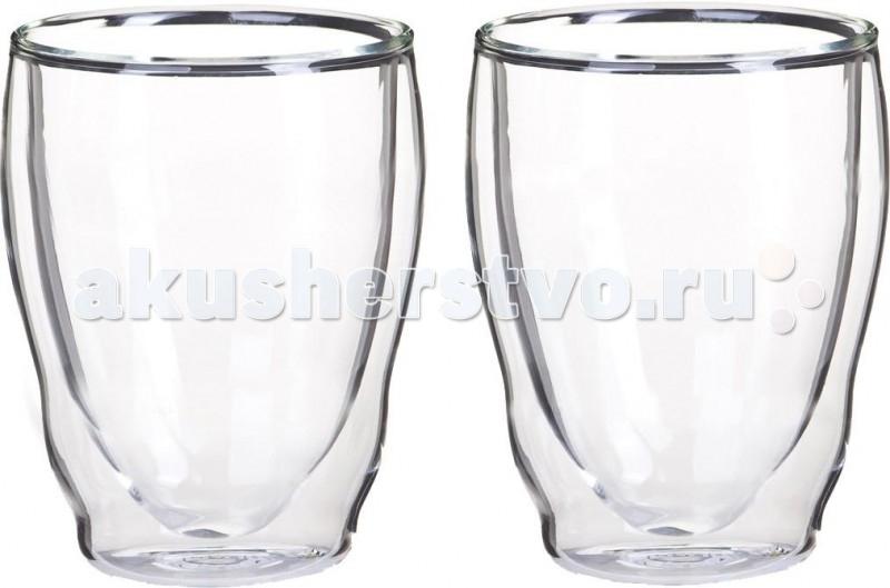 Thermos Стакан из двойного стекла Double glass Tumbler 270 мл 2 шт.Стакан из двойного стекла Double glass Tumbler 270 мл 2 шт.Thermos Стакан из двойного стекла Double glass Tumbler 270 мл для использования в повседневной жизни, посудомоечных машинах и микроволновых печах.<br>