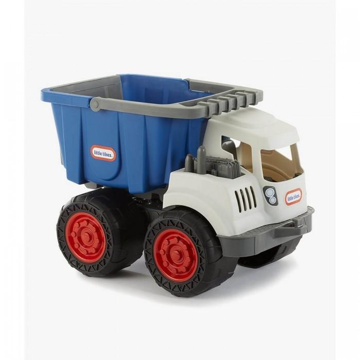 Little Tikes Землекоп Самосвал 2 в 1Машины<br>Little Tikes Землекоп Самосвал 2 в 1 – это очень симпатичный и оригинальный строительный грузовичок для мальчиков от 3 лет.  Машинка наверняка придется по вкусу любому мальчишке, ведь она так похожа на настоящий самосвал с опрокидываемым кузовом, большими рельефными колесами и детализированной белой кабиной!   К тому же, у грузовика есть одна секретная особенность – его кузов можно отсоединить, и тогда он превращается в ведерко с ручкой для игры в песочнице. Вот такая универсальная игрушка для игры дома и на улице этот землекоп!  Машина очень добротно собрана из прочного качественного пластика и способно прослужить очень долго на радость ребенку.
