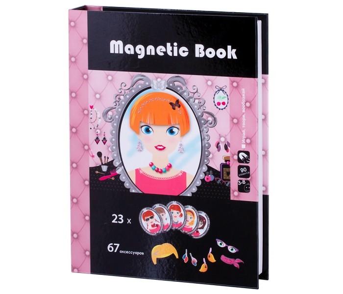 Купить Развивающие игрушки, Развивающая игрушка Magnetic Book игра Стилист 90 деталей