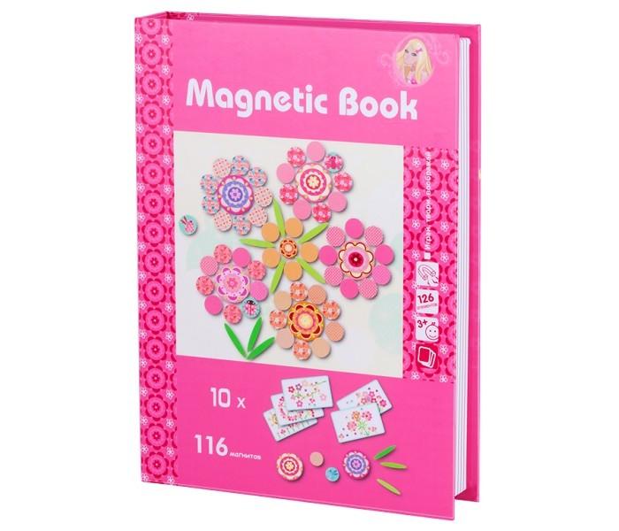 Купить Развивающие игрушки, Развивающая игрушка Magnetic Book игра Фантазия 126 деталей