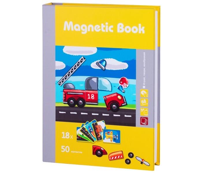 Купить Развивающие игрушки, Развивающая игрушка Magnetic Book игра Юный инженер 68 деталей