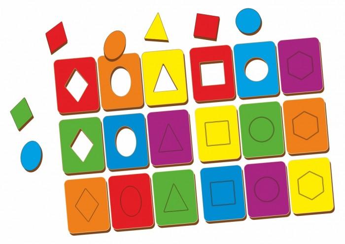 Деревянные игрушки Woodland Доски Сегена набор 18 шт.