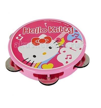 Музыкальные игрушки Simba Тамбурин Hello Kitty музыкальный инструмент детский simba музыкальная гитара свет звук 43 5 см