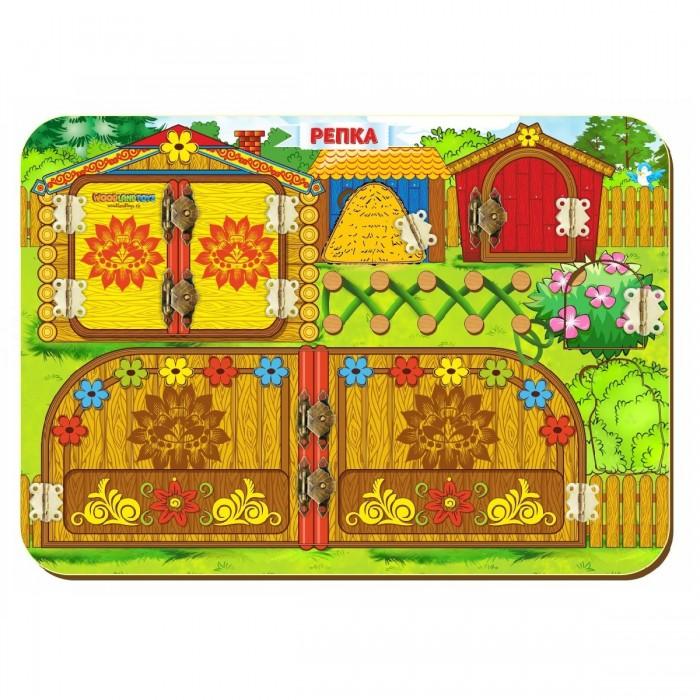 Деревянная игрушка Woodland Бизиборд Репка