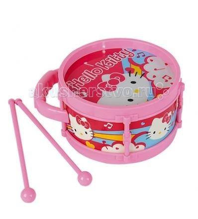 Музыкальные игрушки Simba Барабан Hello Kitty музыкальные игрушки simba гитара на батарейках