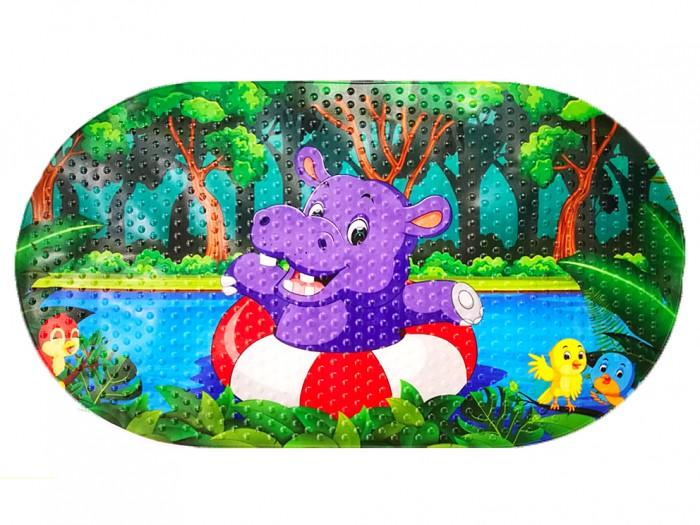 Купить Коврик Aqua-Prime Spa для ванны Бегемотик 68х38 см в интернет магазине. Цены, фото, описания, характеристики, отзывы, обзоры