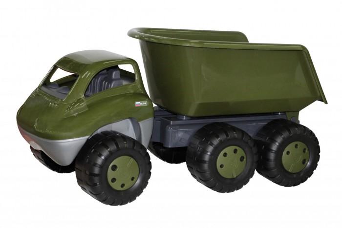 Машины Полесье Дакар автомобиль-самосвал военный с прицепом лесовоз с прицепом полесье volvo