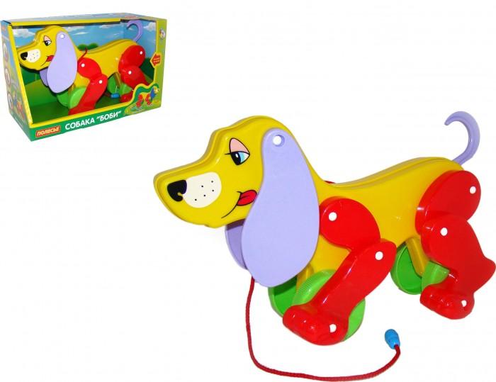 Каталки-игрушки Полесье Собака Боби каталки полесье пони