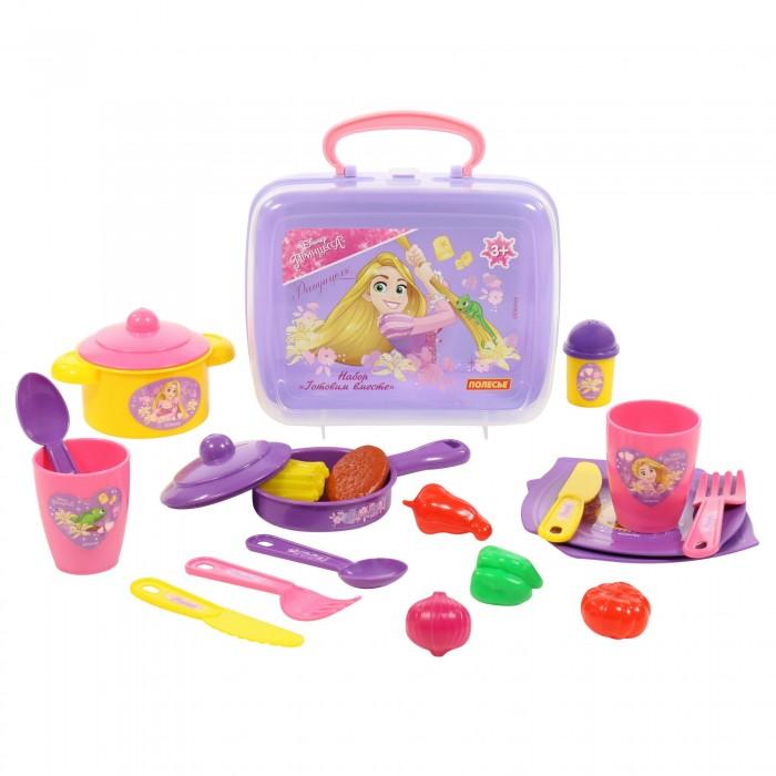 Ролевые игры Coloma Набор Disney Принцесса Рапунцель - Готовим вместе в чемоданчике