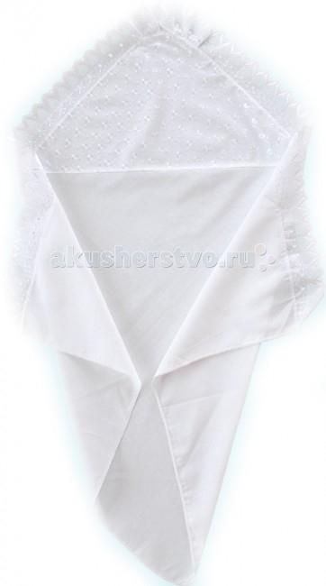 Крестильная одежда Little People Уголок нарядный с шитьём крестильная одежда арго уголок с оборочкой 009 2н