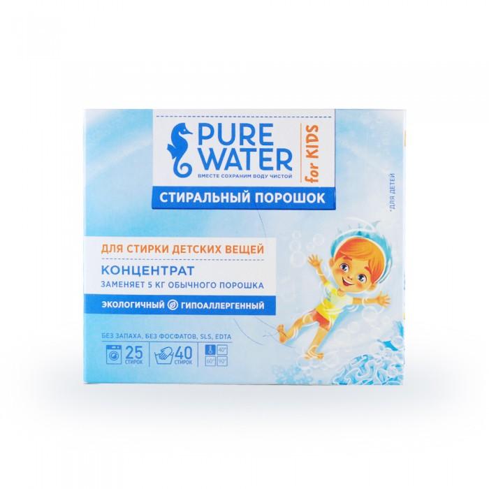 Купить Pure Water Порошок стиральный детский 800 г в интернет магазине. Цены, фото, описания, характеристики, отзывы, обзоры