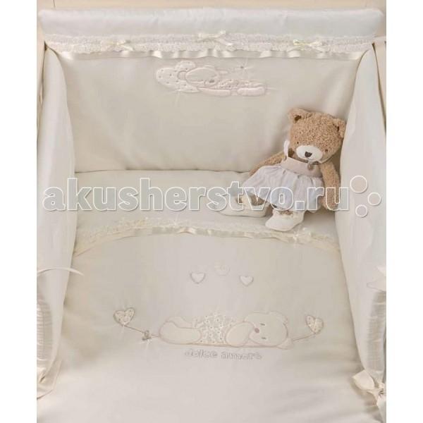 Комплекты в кроватку Picci Mimmi (4 предмета) D1730-09 picci одеяло вязаное для колыбели picci living