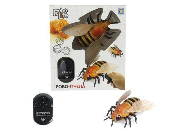 Роботы 1 Toy Робо-пчела на ИК управлении роботы ocie робо ящерица с ик управлением