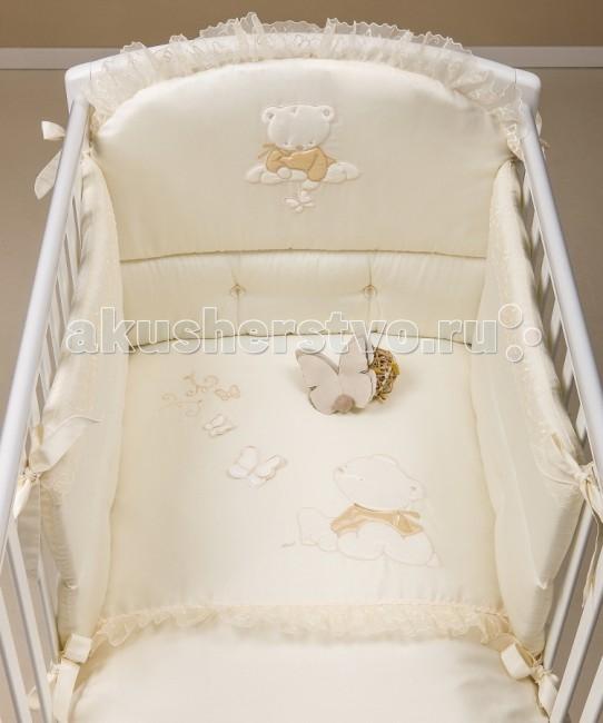Комплекты в кроватку Picci Sissi (3 предмета) с балдахином  picci sissi 3 предмета с балдахином