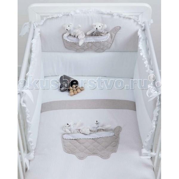 Комплекты в кроватку Picci Coffee (3 предмета) picci одеяло вязаное для колыбели picci living