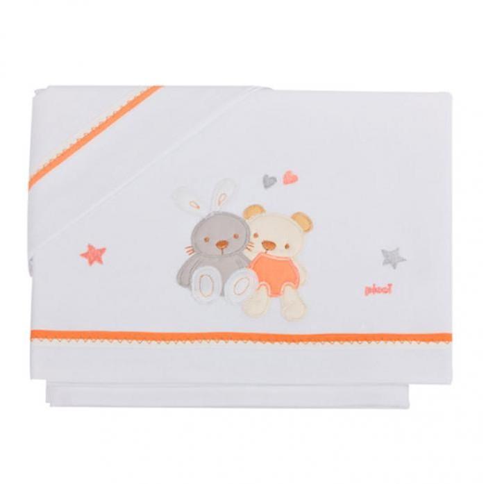 Комплекты в кроватку Picci Spring (3 предмета) picci одеяло флисовое picci fashion 3d лабрадор
