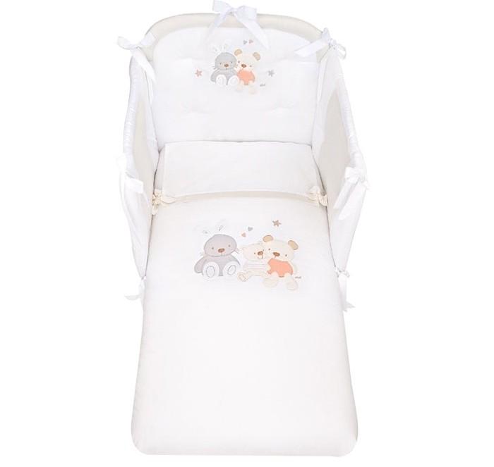 Комплекты в кроватку Picci Spring (3 предмета) с вышивкой  picci sissi 3 предмета с балдахином