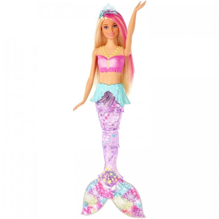 Купить Куклы и одежда для кукол, Barbie Кукла Dreamtopia Мерцающая русалочка