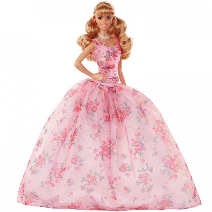 Картинка для Куклы и одежда для кукол Barbie Кукла Пожелания ко дню рождения FXC76