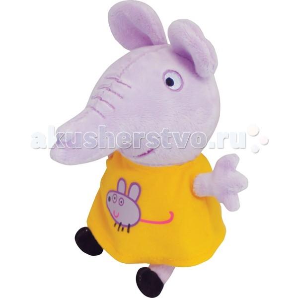 Мягкие игрушки Свинка Пеппа (Peppa Pig) Эмили с мышкой 20 см мягкие игрушки peppa pig мягкая игрушка пеппа модница 20 см