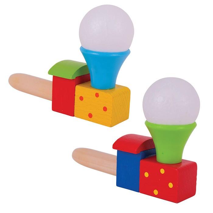 Деревянная игрушка Evotoys Бизиборд кубик Знайка Семицветик Мини