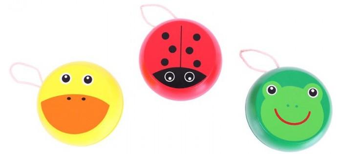 Деревянные игрушки Bigjigs Йо-Йо Животные