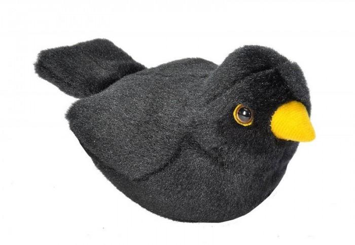 Купить Мягкие игрушки, Мягкая игрушка Wild Republic Птица озвученная Дрозд 15 см