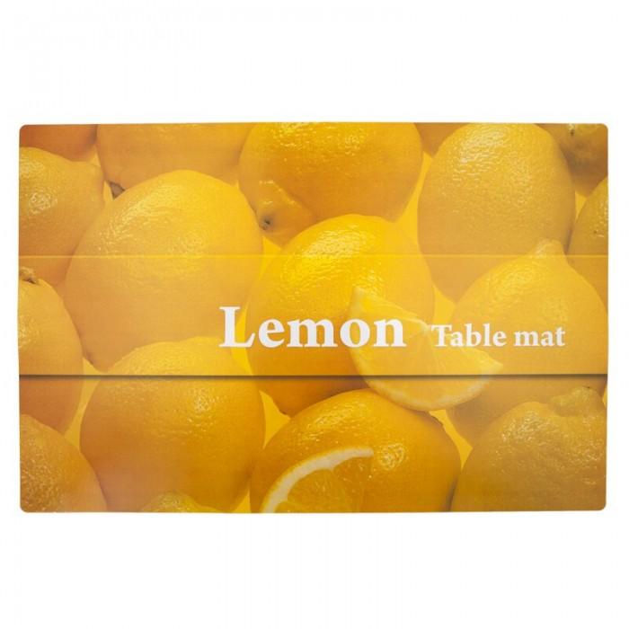 Посуда Remiling Скатерть-салфетка Лимоны 60х90 см