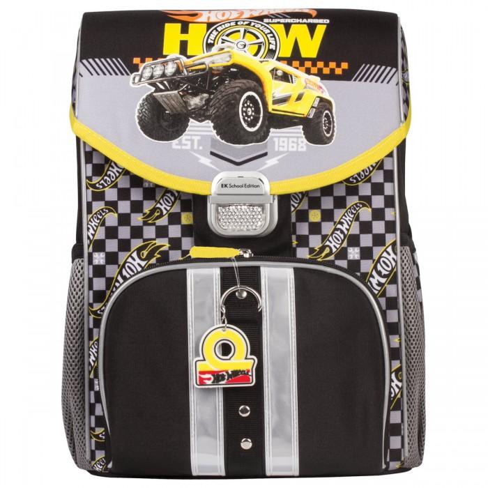 Купить Школьные рюкзаки, Erich Krause Ранец жесткокаркасный Hot Wheels