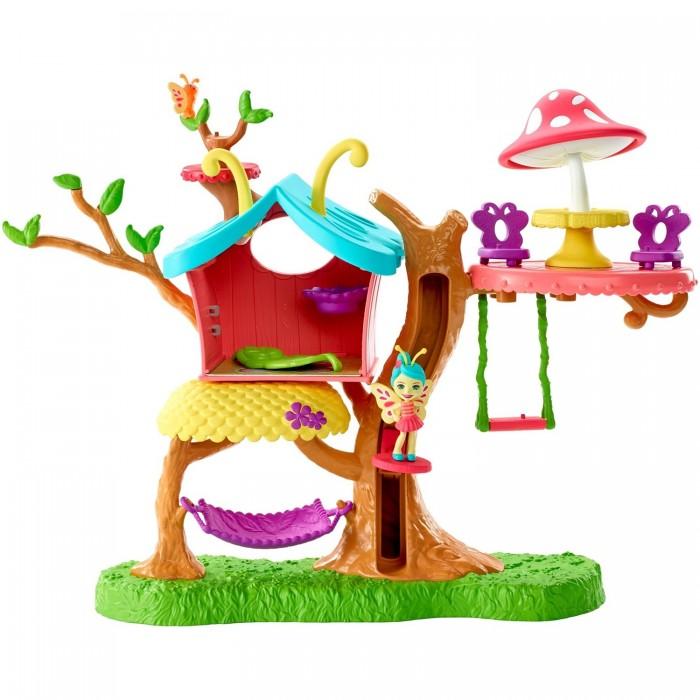 Купить Игровые наборы, Enchantimals Набор игровой Клубный дом с куклой Бакси Бабочка