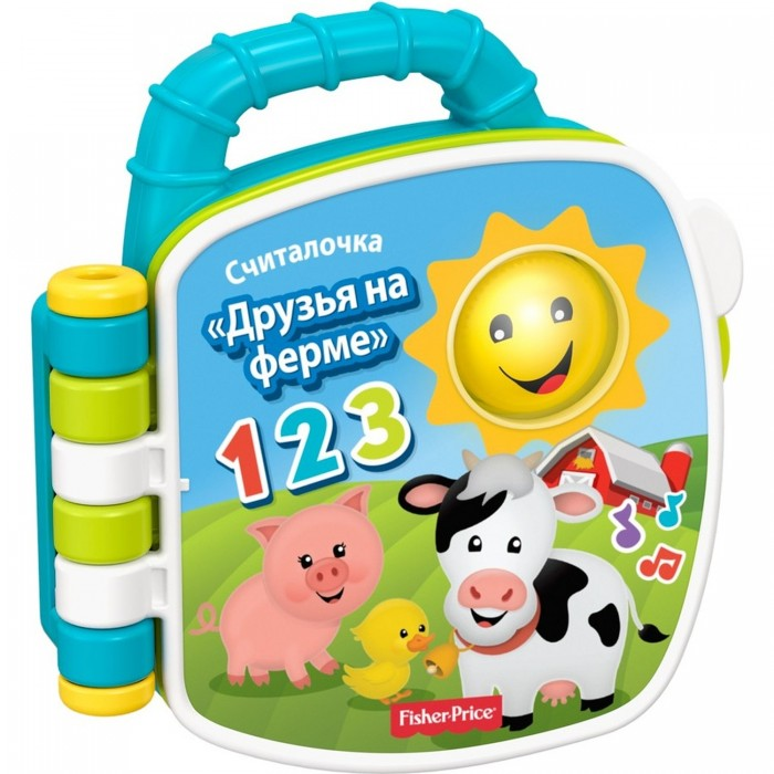 Музыкальные книжки Fisher Price Музыкальная книжка Учим животных