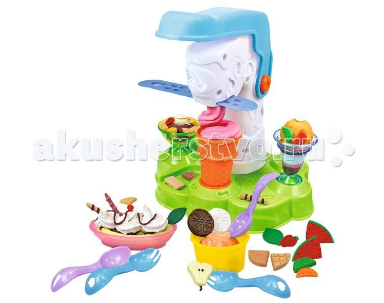 Творчество и хобби , Всё для лепки Simba Набор Art&Fun Станция мороженого арт: 68686 -  Всё для лепки